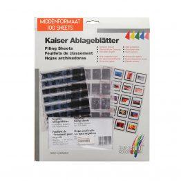 Kaiser middenformaat negatiefbladen
