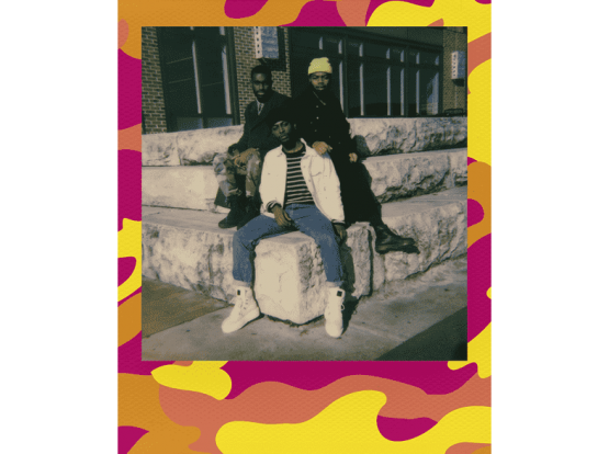 Polaroid Original Color i-Type Film Camo Edition